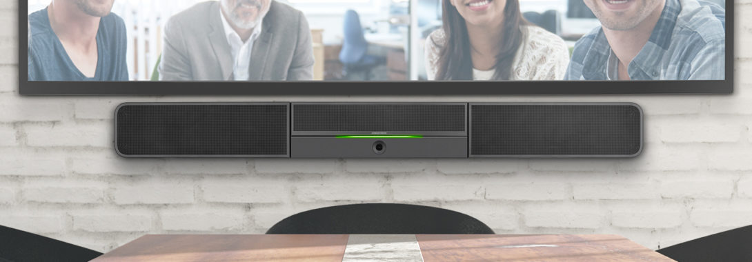 Only Crestron can deliver a Smart Soundbar that's this Smart.